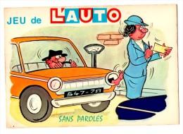 JEUX DE L AUTO   Les Contractuelles   Carte En Très Bon état - Humor