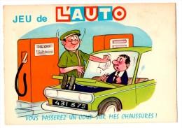 JEUX DE L AUTO  Le Pompiste   Carte En Très Bon état - Humor