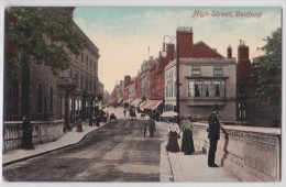 BEDFORD - High Street - George Inn - Posting House - Souvenir Post Card - Valentine's Series - Bedford