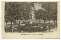"""13 - Marseille - La Place Estrangin - Phototypie E. Lacour N° 26 - Cpa """"précuerseur"""" - Monuments"""