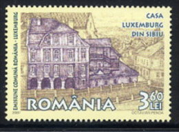 ROMANIA 2007 Sibiu And Luxumbourg Cities Of Culture    MNH / **.  Michel 6238 - 1948-.... Republics