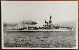 WW2 - Photographie / Carte Postale Cuirassé Jean Bart (de 1911) Rebaptisé Océan En 1937 - Oorlog 1939-45