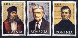 ROMANIA 2007 German Personalities Set Of 3    MNH / **.  Michel 6235-37 - 1948-.... Republics