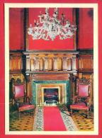 163379 / Crimea LIVADIA Palace - Ceremonial Reception. INTERIOR Summer Retreat  Last Russian Tsar, Nicholas II - UKRAINE - Ukraine