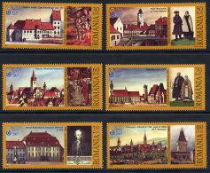 ROMANIA 2007 Sibiu European City Of Culture Set Of 6   MNH / **.  Michel 6206-11 - 1948-.... Republics