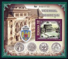 ROMANIA 2007 Old Bucharest Blocks    MNH / **.  Michel Blocks 397-98 - 1948-.... Republics