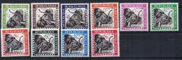 Serie Nº S-1/10 Haute Volta - Elefantes