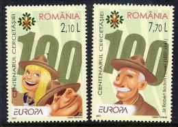 ROMANIA 2007 Europa: Scouting Set Of 2  MNH / **.  Michel 6190-91 - 1948-.... Republics