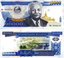 LAOS 10000 Kip P- 35  2003  *UNC* - Laos
