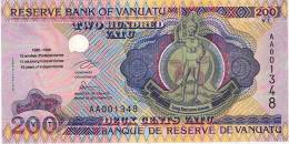 Vanuatu (nouvelles Hebrides) Billet 200 Vatu, Commemoratif 10 Ans Independance, 1995 Neuf UNC - Vanuatu
