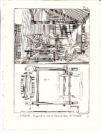 "gravures anciennes ""soierie"" planches n�1 a n�121-au total 121 planches-poids + 1900grs"