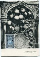 ALGERIE CARTE MAXIMUM DU N°311  3e CONGRES INTERNATIONAL D'AGRUMICULTURE....OBLITERATION ALGER 8 MAI 1954 - Cartes-maximum
