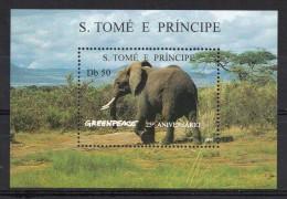 Hb-163 Ac  St. Tome E Principe - Elefantes
