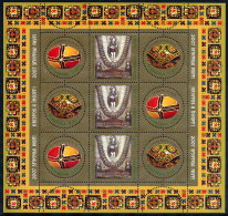 ROMANIA 2007 Easter Sheetlet MNH / **.  Michel 6171-73 - 1948-.... Republics