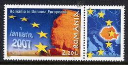 ROMANIA 2007 EU EntryMNH / **.  Michel 6156 - 1948-.... Republics