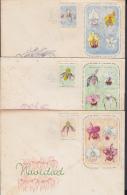 1966-FDC-27  CUBA. FDC. 1966. NAVIDAD. FLORES. ORQUIDEAS. FLOWERS. ORCHIDS. - FDC