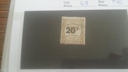 LOT 246974 TIMBRE DE FRANCE NEUF* N�49 VALEUR 40 EUROS