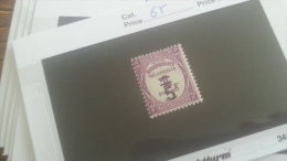 LOT 246982 TIMBRE DE FRANCE NEUF* N�65 VALEUR 70 EUROS