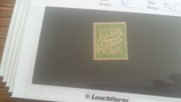 LOT 246983 TIMBRE DE FRANCE NEUF* N�30 VALEUR 45 EUROS