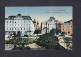 AK  Ukraine Ou Pologne - Lemberg - Lwöw - Hetmann'sche Strasse - Ulica Hetmanska ( Feldpost Guerre 1914-1918) - Ucraina
