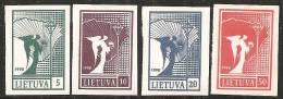Lituania 1990 Nuovo** - Mi. 457/60 - Lituania