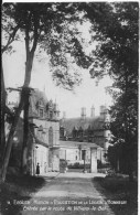ECOUEN : Maison D'Education De La Légion D'Honneur - Entrée Par La Route De Villiers Le Bel - CPA Postée En 1935 - Ecouen