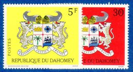 DAHOMEY - N° 279/280   **  (1969) - Benin – Dahomey (1960-...)