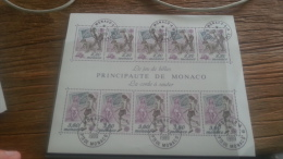 LOT 247002 TIMBRE DE MONACO NEUF** BLOC