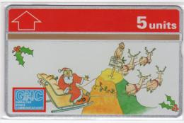 GIBRALTAR MERRY CHRISTMAS 1994 REF MVcards GIB-41  5U PERE NOEL RENNE MINT 3000ex - Gibraltar