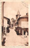 32 - Tillac - La Rue De L'Eglise, L'Eglise Et La Tour Du Nord - Autres Communes
