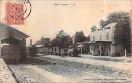 32 - Riscle - Gare (train, Locomotive) - Riscle