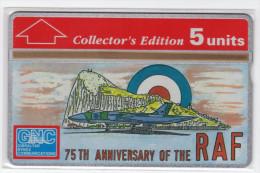 GIBRALTAR REF MVcards GIB-28  5U 75th Anniversary Of The Royal Air Force MILITARY MINT - Gibraltar