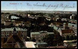 ALTE POSTKARTE FRANKFURT AN DER ODER FELDPOST 1914 Bahnhofs Commandantur Bahnhofskommandantur