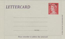 Australia Postal Stationary Letter Cards 1979 Queen Elizabeth 20c On 18c L70 Unused - Interi Postali