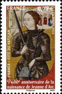 YT4654 FRANCE An.2012 Neuf  Jeanne D'Arc  600ième Anniversaire De Sa Naissance - Francia