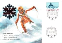Ski, Switzerland, Mountain, Zurbriggen, Girardelli, Wasmeier - Skisport