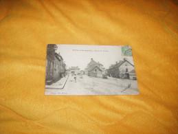 CARTE POSTALE ANCIENNE CIRCULEE DE 1905. / ETANG SUR ARROUX.- ROUTE DE TOULON. / CACHETS + TIMBRE - France