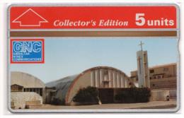 GIBRALTAR REF MVcards GIB-30 5U  ST THERESA CHURCH MINT - Gibraltar