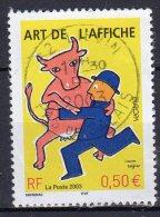 """""""Bal Des Affiches"""", Oeuvre De Raymond Savignc (1986) - N° 3556 Obli. - Oblitérés"""