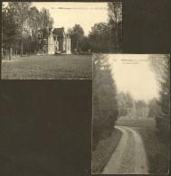 "2 CPA De MILLANCAY Du Château ""LA GOUCHERE"" (ThG) Loir & Cher (41) - France"