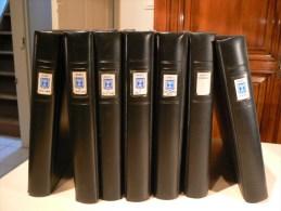 COLLECTION ISRAEL en 7 volumes - Timbres neufs ** avec tabs + Enveloppes et documents - 338 photos - Cote +++