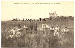44 - SAINT-BRÉVIN-l'OCÉAN - Cueillette Des Oeillets Sur Les Dunes +++++ Collection Lefèvre-Lagrange +++ ANIMÉE - Saint-Brevin-l'Océan