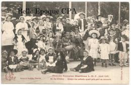 44 - LE CROISIC - Grande Semaine Maritime L. M. F. - Août 1908 - Groupe Des Enfants #35 ++++ Artaud-Nozais ++++ RARE - Le Croisic