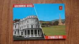 39122 POSTCARD: ISLE OF MAN: GOVERNMENT OFFICE - TYNWALD HILL. - Ile De Man