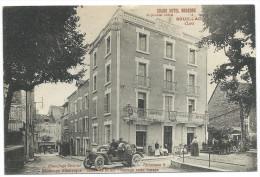"""SOUILLAC (Lot) - """"Grand Hôtel Moderne"""" HEBRARD Directeur-Propriétaire - Chauffage Central, éclairage électrique - Animée - Souillac"""