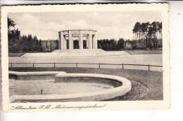 OSTPREUSSEN - ALLENSTEIN / OLSTYN, Abstimmungsdenkmal, deutsche Feldpost 2. Weltkrieg,