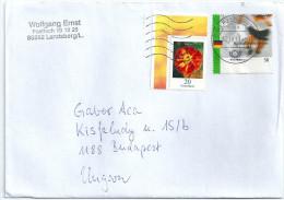 0871 Germany Sport Football Soccer Flora Flower Addressed - Fussball