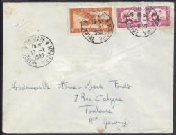 INDOCHINE - 1950 -  LETTRE DE TOURANE A DESTINATION DE TOULOUSE - FR - - Indochine (1889-1945)