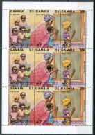 1995 Gambia Infanzia Childhood Enfance Block MNH** Car8 - Gambia (1965-...)