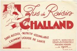 Buvard  Jus De Raisins Challand Sans Alcool Nuits St Georges - Softdrinks